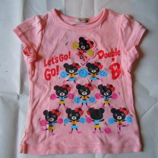ミキハウス(mikihouse)の女の子用Tシャツ2枚セット  ミキハウス/APPLESEED  サイズ100(Tシャツ/カットソー)