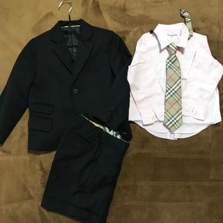 バーバリー(BURBERRY)のBURBERRY LONDON フォーマルスーツ 男の子用 100Aサイズ(ドレス/フォーマル)