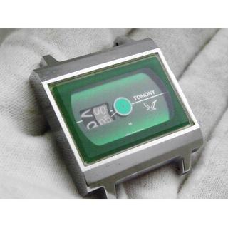 セイコー(SEIKO)のTOMONY 手巻き腕時計 5018-502A レトロ グリーン(腕時計(アナログ))