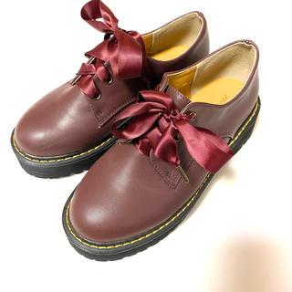 ダブルクローゼット(w closet)のwcloset 厚底シューズ(ローファー/革靴)
