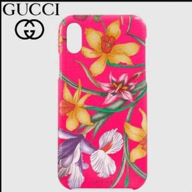 Iphone8ケースダンボ,Gucci-【GUCCI】★フローラプリントiPhoneX/XSケース 新品の通販