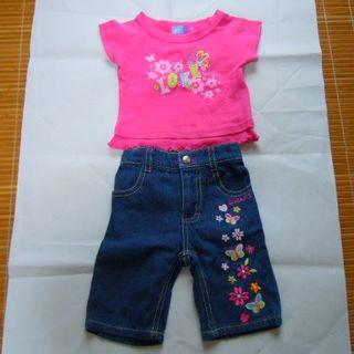 SKECHERS   女の子用ジーンズ/Tシャツセット サイズ12MOS(その他)