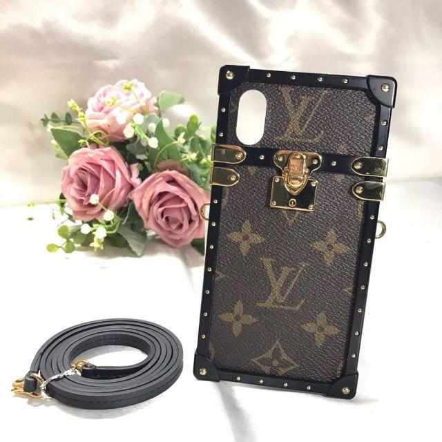 LOUIS VUITTON - ルイヴィトン 美品☆ アイトランク ストラップ付き iPhone Xの通販