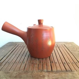常滑焼 朱泥 喜多高資 急須 六歌仙 茶器 煎茶 茶道(食器)