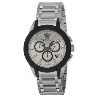ヴェルサーチ(VERSACE)のメンズ腕時計 キャラクタークロノ VEM800118(腕時計(アナログ))