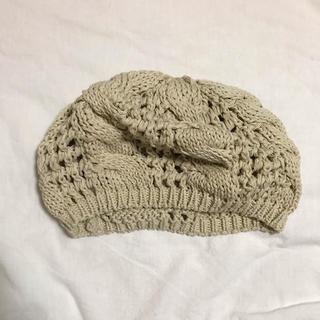 イング(INGNI)のINGNI ベレー帽 + ニットアンサンブル×2(ハンチング/ベレー帽)
