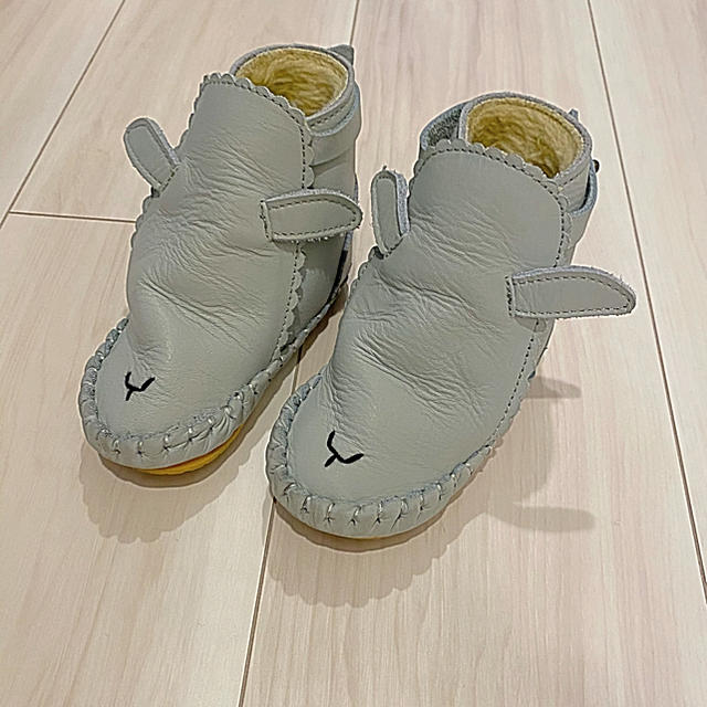 Caramel baby&child (キャラメルベビー&チャイルド)のムートンブーツ ベビーシューズ DONSJE ドンシェ キッズ/ベビー/マタニティのベビー靴/シューズ(~14cm)(ブーツ)の商品写真