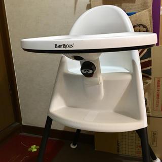 ベビービョルン(BABYBJORN)のベビービョルン ハイチェア 椅子 お食事 ハイチェアー 人気 ホワイト(その他)