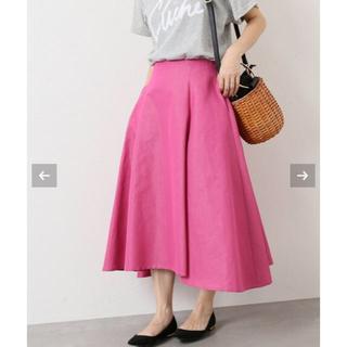 イエナ(IENA)の【IENA】デザインフレアースカート 40(ひざ丈スカート)