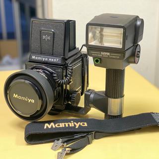 マミヤ(USTMamiya)のmamiya rb67 フルセット(フィルムカメラ)