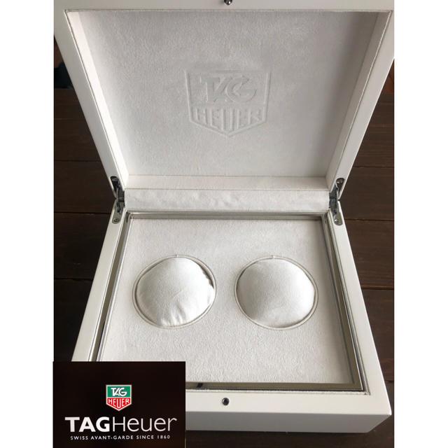 TAG Heuer - 【貴重】腕時計 2本収納ケース TAGHEUER タグホイヤー 限定BOX 白の通販