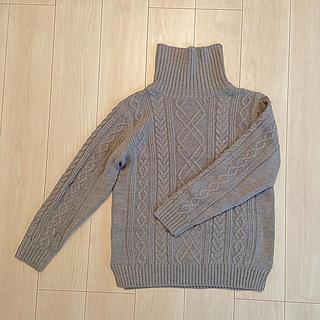【BROWNY STANDARD】ハイネックセーター(ニット/セーター)