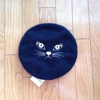 ウィゴー(WEGO)のキャットベレー帽(ハンチング/ベレー帽)