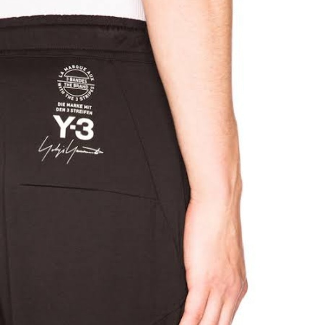 Y-3(ワイスリー)のY-3 15周年ロゴ  M LNG JOHN STATトラック パンツ ジョガー メンズのパンツ(その他)の商品写真