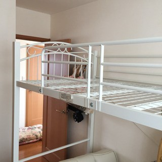 札幌市近郊にお住いの方限定!配達無料!シングルロフトベッド(ロフトベッド/システムベッド)