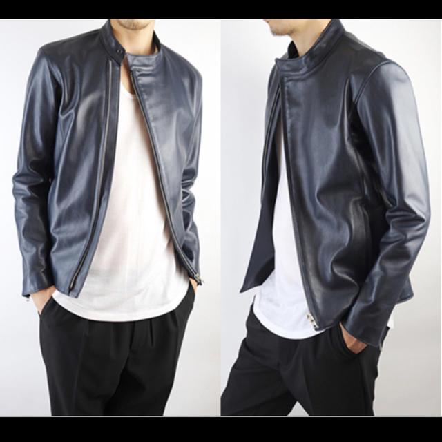 LAD MUSICIAN(ラッドミュージシャン)の最終値下げ LAD MUSICIAN 10AW ライダース メンズのジャケット/アウター(ライダースジャケット)の商品写真