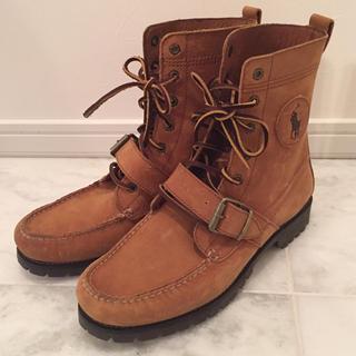 ポロラルフローレン(POLO RALPH LAUREN)の新品未使用 POLO  26.5cm ブーツ ラルフローレン メンズ (ブーツ)