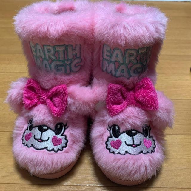 EARTHMAGIC(アースマジック)の❤︎JEWEL❤︎様専用です❤️ キッズ/ベビー/マタニティのベビー靴/シューズ(~14cm)(ブーツ)の商品写真