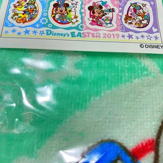ディズニー(Disney)のディズニーランド限定品 ディズニーイースター うさたま フワモコウォッシュタオル(キャラクターグッズ)