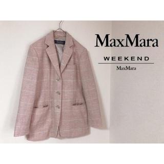 マックスマーラ(Max Mara)のマックスマーラウィークエンド ジャケット チェック(テーラードジャケット)