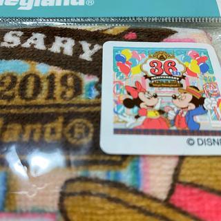 ディズニー(Disney)のディズニーリゾートグッズ ウォッシュタオル ハンドタオル 新品未使用 送料込即決(キャラクターグッズ)