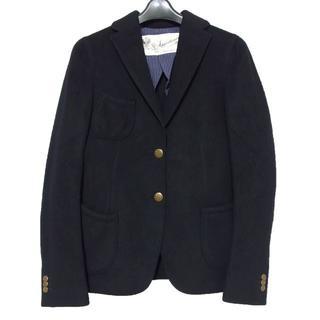アパルトモンドゥーズィエムクラス(L'Appartement DEUXIEME CLASSE)のアパルトモン タカヒロマツシタ 金釦 2B ウール ジャケット 紺 ネイビー(テーラードジャケット)