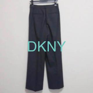 ダナキャランニューヨーク(DKNY)のDKNY ダナキャラン パンツ ワイドパンツ グレー ズボン(カジュアルパンツ)