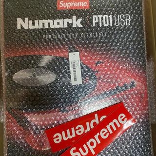 シュプリーム(Supreme)のsupreme numark 3台セット(ターンテーブル)