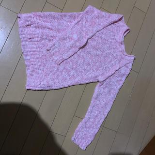 ジーユー(GU)の120サイズ★春色ニット(ニット)