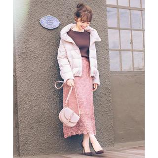 ウィルセレクション(WILLSELECTION)のウィルセレクション♡サークルフラワーレースタイトスカート(ロングスカート)