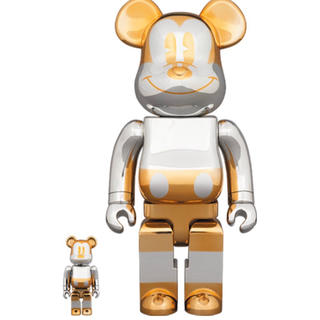 BE@RBRICK future mickey 400% 100% セット(その他)