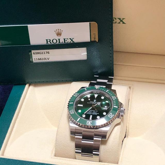 ROLEX - ロレックス 116610LV グリーンサブマリーナの通販