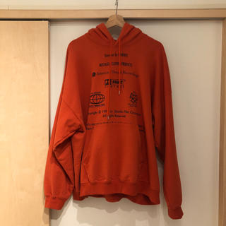 DAIRIKU 19AW ENDROLL washed sweater(パーカー)