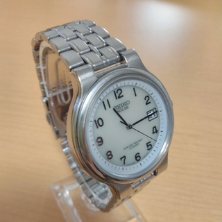 セイコー(SEIKO)のセイコー SEIKO ソーラー デイト 5K22-0A40(腕時計(アナログ))