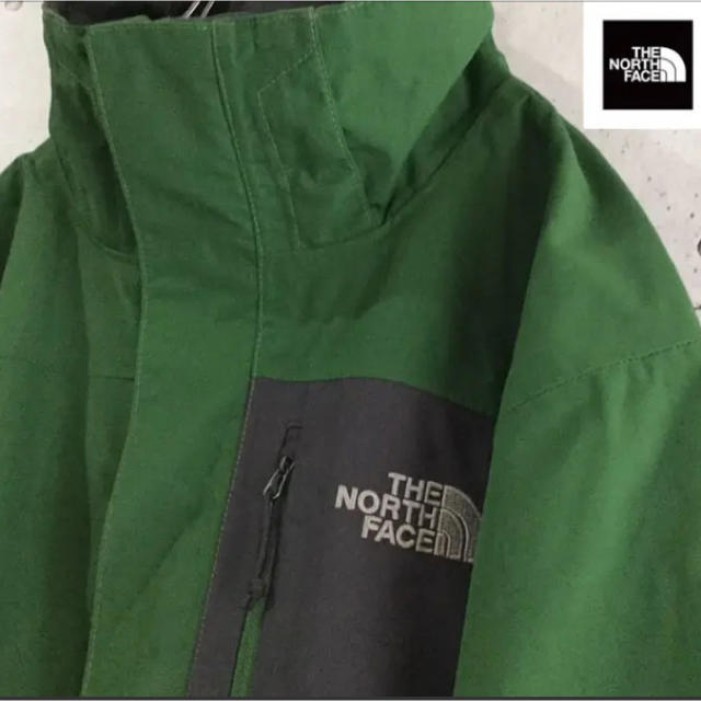 THE NORTH FACE(ザノースフェイス)の[レア] ノースフェイス☆ スタンドカラー 人気のグリーン! メンズのジャケット/アウター(ダウンジャケット)の商品写真