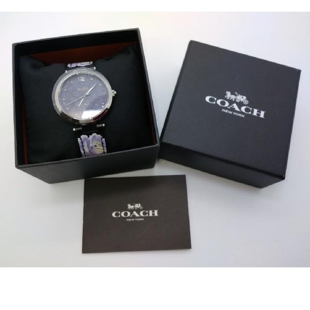 エディフィス 時計 激安中古 、 COACH - 〈未使用〉COACHコーチクォーツ腕時計レディースの通販