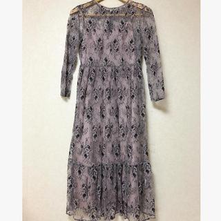 アーバンリサーチロッソ(URBAN RESEARCH ROSSO)のkaene 結婚式 ドレス ワンピース(ロングドレス)