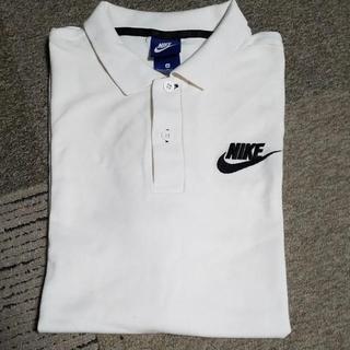 NIKE - NIKE ポロシャツ  M ホワイト