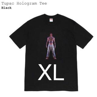 シュプリーム(Supreme)のXL Supreme Tupac Hologram Tee Black 新品(Tシャツ/カットソー(半袖/袖なし))