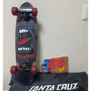 【美品】Santa cruz スケボーセット デッキ クルーザー(スケートボード)