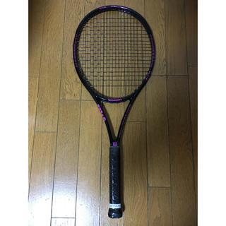 ウィルソン(wilson)のテニスラケット Wilson Blade 104 ピンク グリップ2(ラケット)