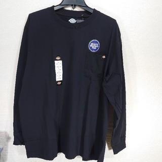 ディッキーズ(Dickies)の【XL】DICKIES ディッキーズ ロンT/長袖Tシャツ/ブラック(Tシャツ/カットソー(七分/長袖))