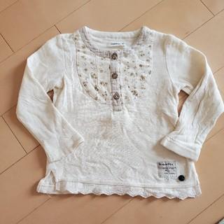 ビケット(Biquette)のBiquette ナチュラルデザイン長袖Tシャツ size90(Tシャツ/カットソー)