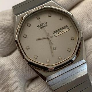 ラドー(RADO)のラドー RADO メンズ 腕時計 シルバー 電池交換済 114.3239.4(腕時計(アナログ))