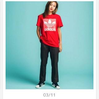 アディダス(adidas)のアディダス ボーイフレンド Tシャツ オーバーサイズ(Tシャツ(半袖/袖なし))