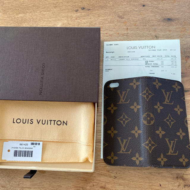 LOUIS VUITTON - LOUIS VUITTON iPhone6s カバーの通販