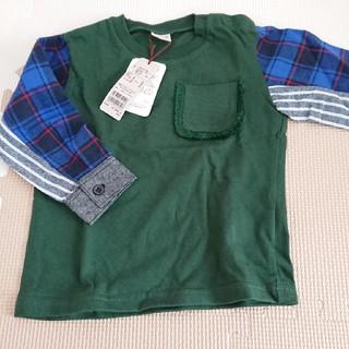 プティマイン(petit main)のプティマイン 長袖 カットソー 90(Tシャツ/カットソー)