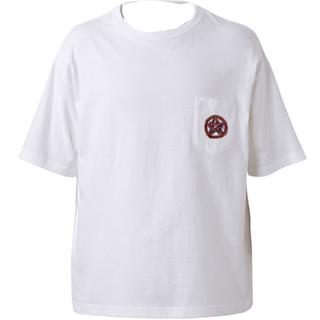 オフホワイト(OFF-WHITE)の六芒星 justin Photo オーバーTシャツ vetements(Tシャツ/カットソー(半袖/袖なし))