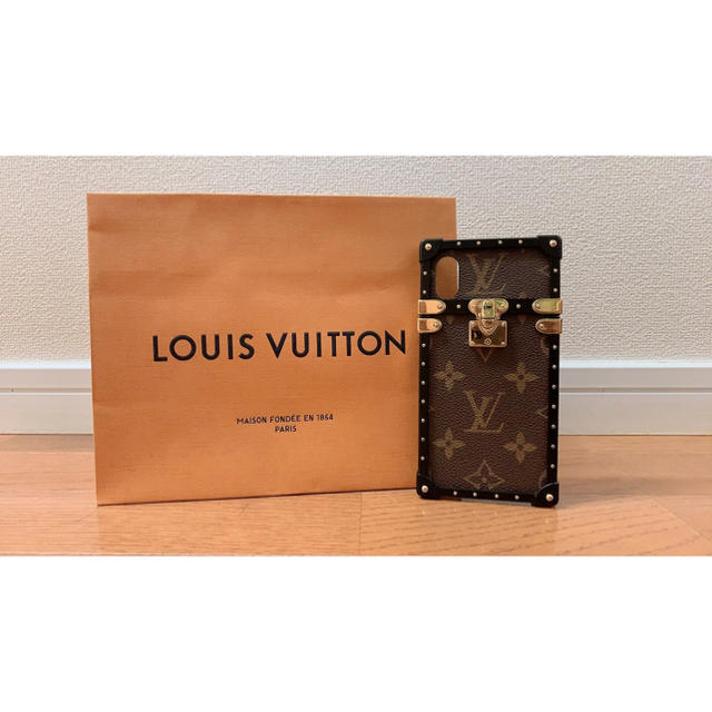 LOUIS VUITTON - ゆう様【美品】LOUIS VUITTON アイ・トランク iPhone X&XSの通販