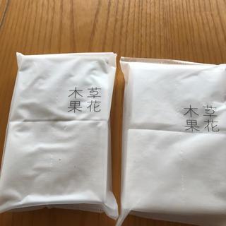 ソウカモッカ(草花木果)の草花木果 天然コットン40枚(その他)